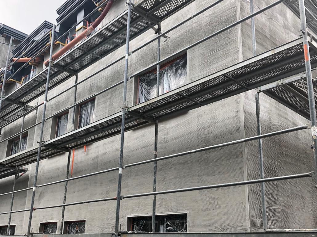 Addi Klinkhammer e.K. - Gebäudefassade Spezialputz