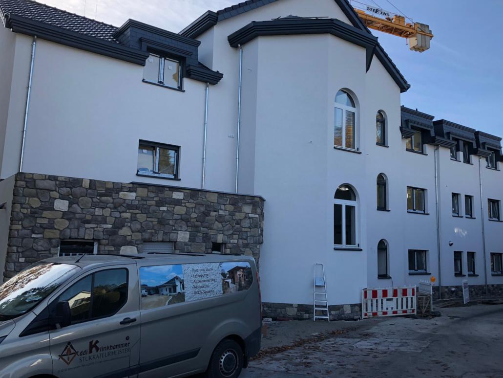 Addi Klinkhammer e.K. - Verputzen Gebäudefassade